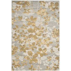 Montelimar Gray/Gold Area Rug