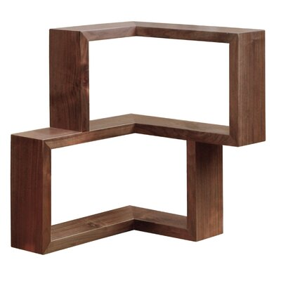 Tronk Design Franklin Wall Shelf Finish: Walnut