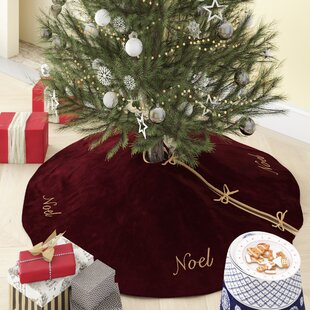 Purple Christmas Tree Skirts You Ll Love Wayfair Ca