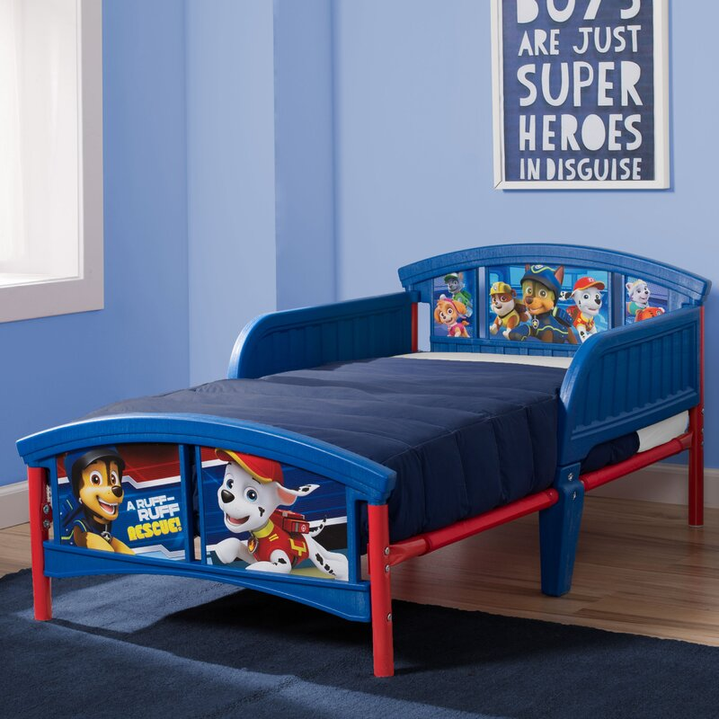 Delta Children Nick Jr PAW Patrol Plastic Toddler Bed Reviews
