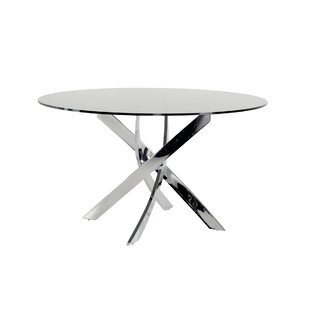 Camron Modern Tempered Glass Top Dining Table 2019 Online