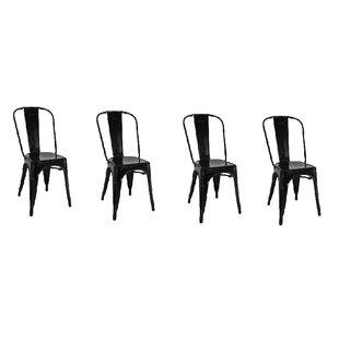 Yashvi Dining Armless Chair (Set of 4)