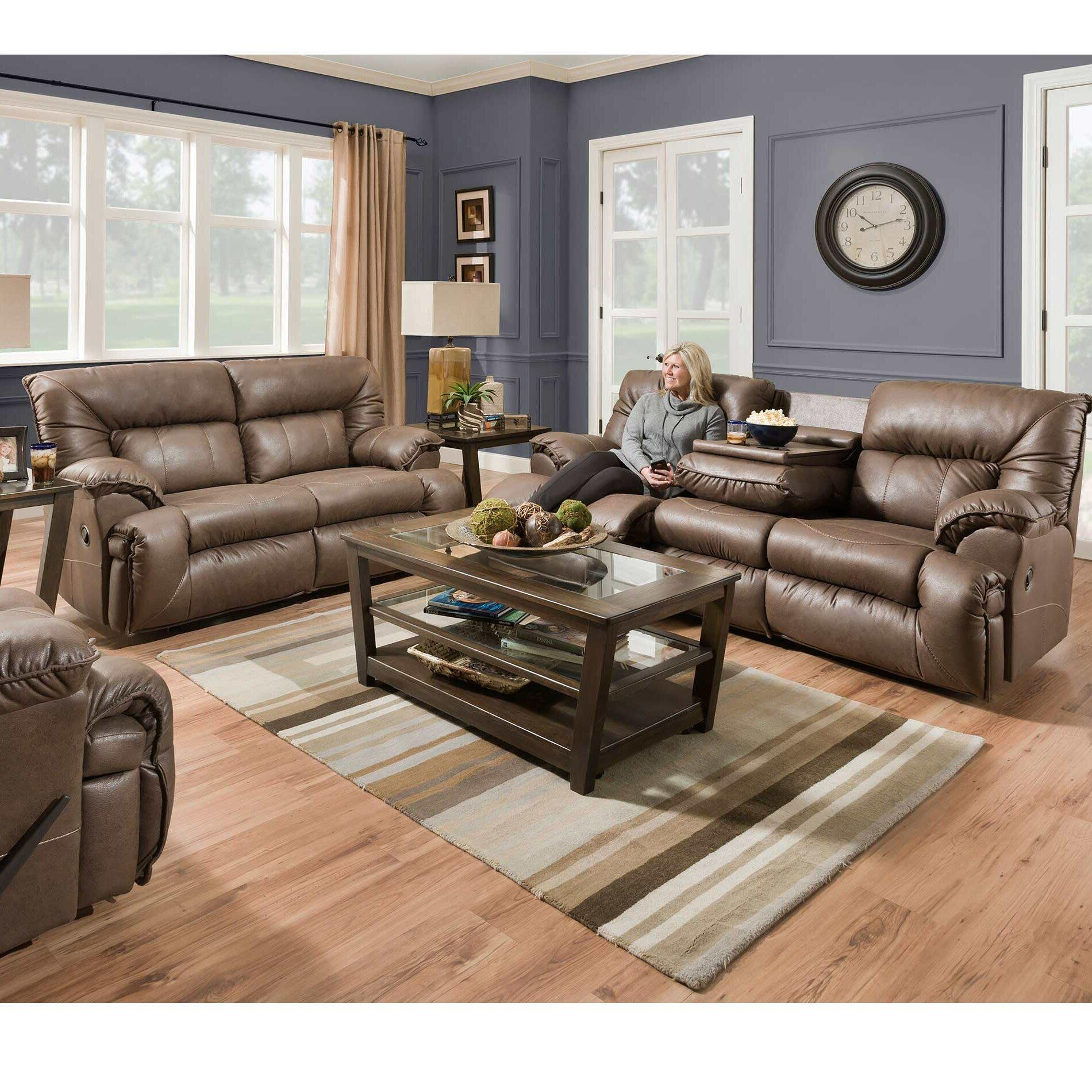 Hearn Reclining Configurable Living Room Set
