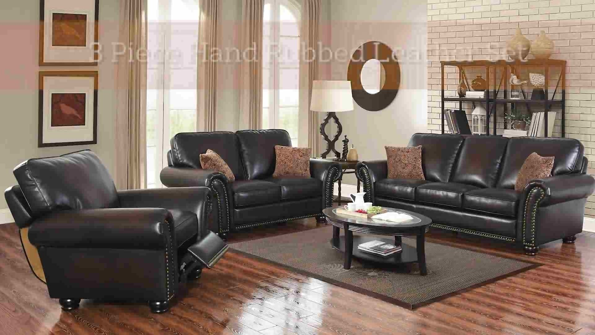 Darby Home Co Fallsburg 3 Piece Leather Living Room Set & Reviews