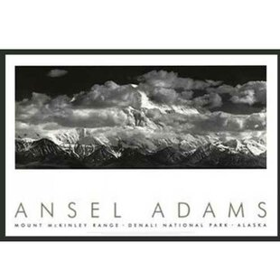 Range Clouds By Ansel Adams Framed Photographic Print