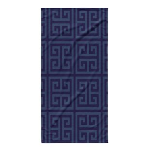 Greek Key Bath Towel. By KAVKA DESIGNS