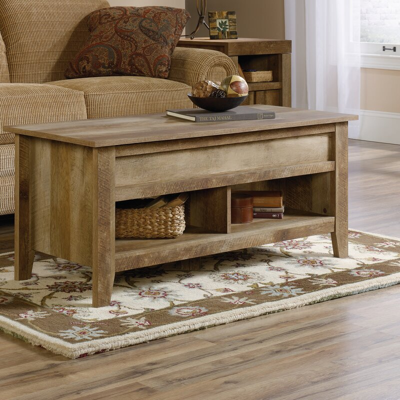 Loon Peak Signal Mountain Coffee Table with Lift Top Reviews