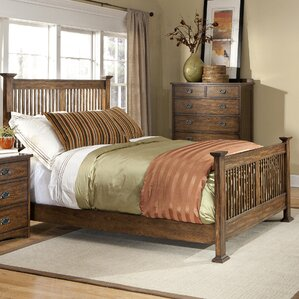 Oakhurst Panel Bed by Imagio Home by Intercon