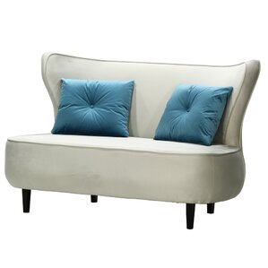 Rapheale Loveseat by Everly Quinn