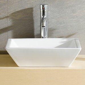 square bathroom sinks. Fine Fixtures Square Bathroom Sinks You ll Love  Wayfair