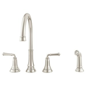 American Standard Delancey Double Handle Kitchen Faucet