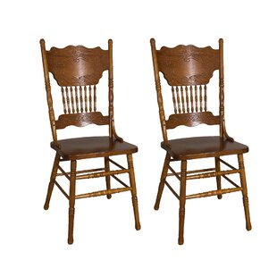 Acadian Double Press Back Side Chair Set Of 2