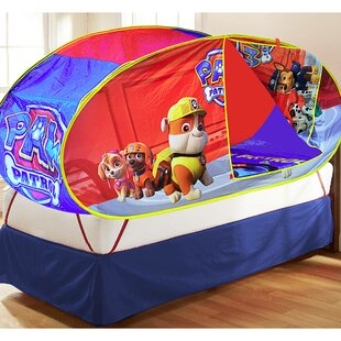 Paw Patrol 4 Piece Play Tent Set & Paw Patrol Toddler Tent Bed | Wayfair