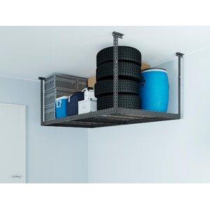 Adjustable Ceiling Shelving Unit