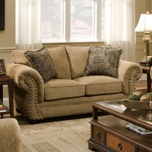 Simmons Upholstery Channahon Loveseat by And..