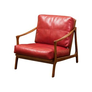 Henry Leather Armchair by Home Loft Concepts