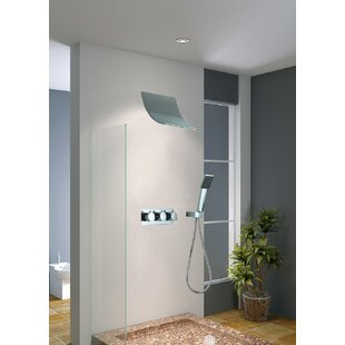 Contemporary/Modern Handheld Complete Shower System