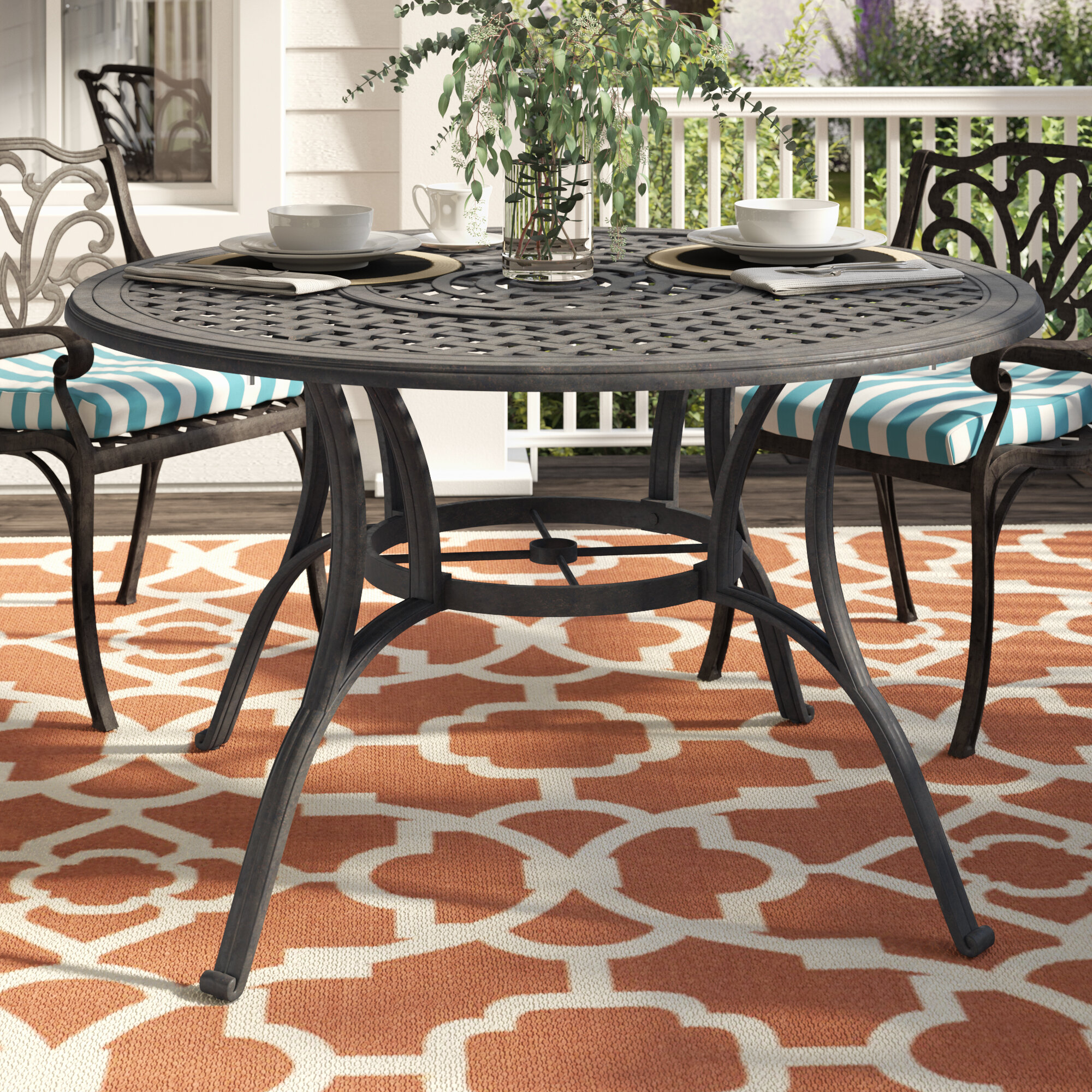 Darby Home Co Maytown Circular Dining Table U0026 Reviews | Wayfair