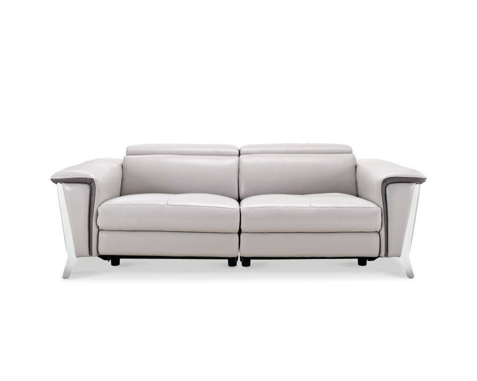 Wade Logan Baccus Leather Reclining Sofa | Wayfair