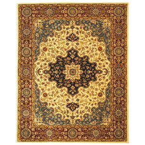 Balthrop Ivory/Red Area Rug