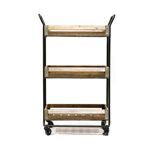 Malcom Metal Bar Cart