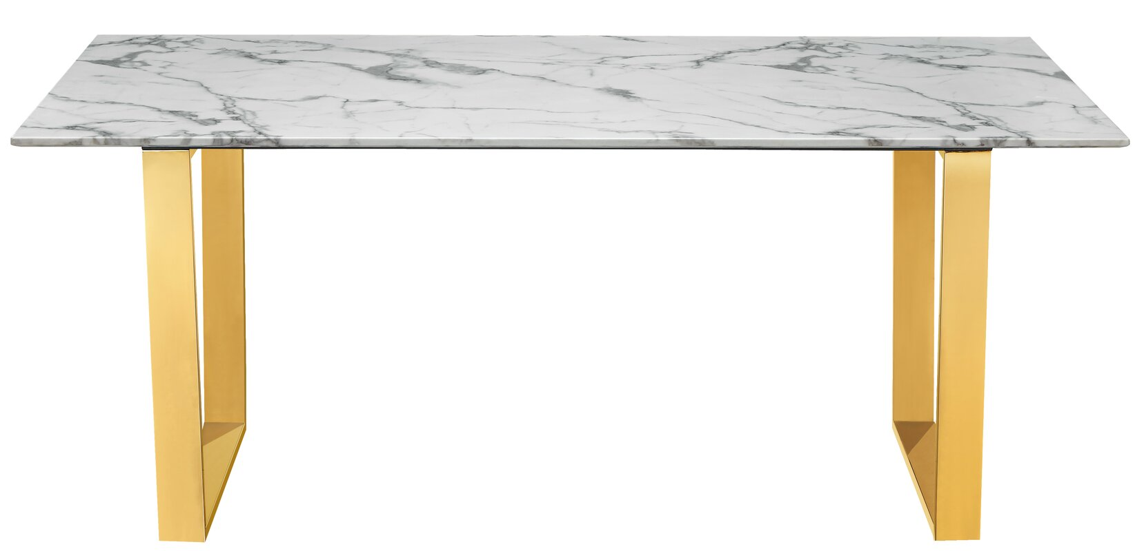Lovely Vonnie Marble Dining Table