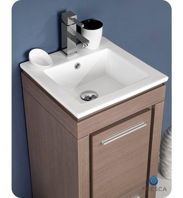 Fresca Allier 48 Single Small Modern Bathroom Vanity Set With Magnificent Small Modern Bathroom Vanities