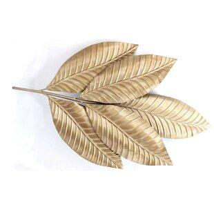 Merveilleux Metal Leaf Wall Décor