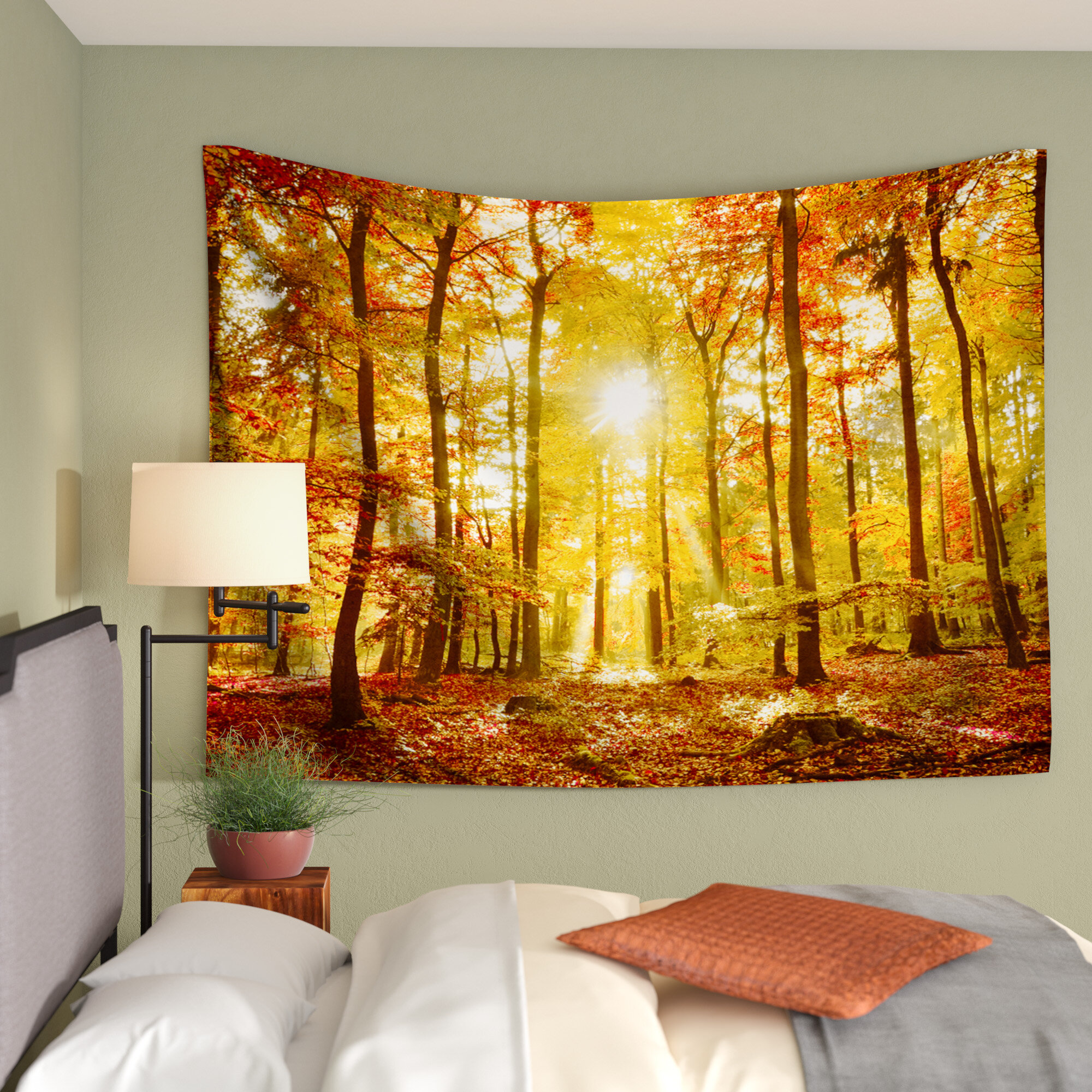 East Urban Home Sun Flooded by Iris Lehnhardt Wall Tapestry ...