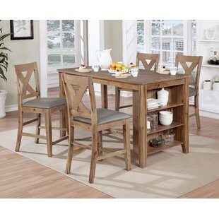 Cliffe 5 Piece Pub Table Set