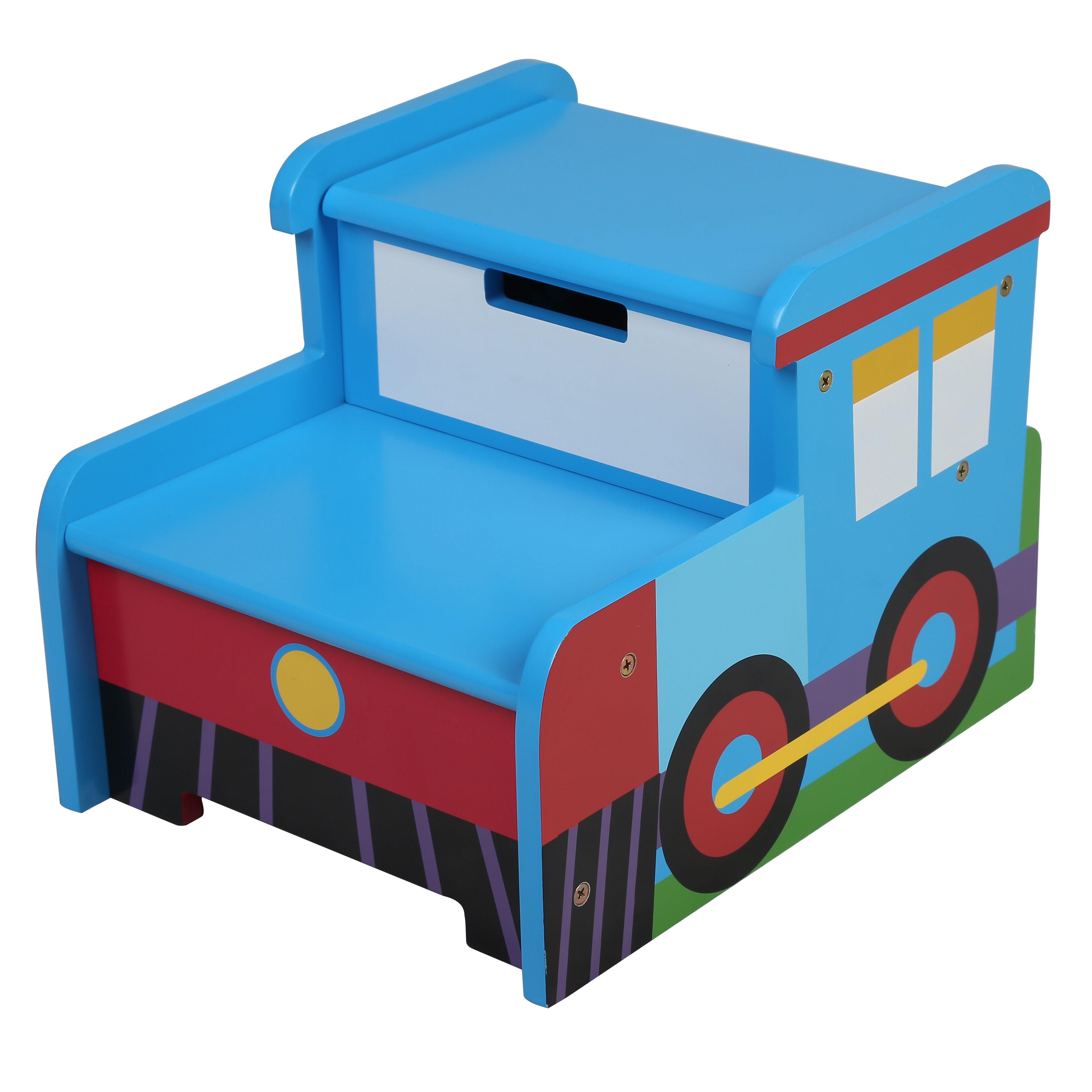 Olive Kids Olive Kids Train Step \'n Store Step Stool with Storage ...