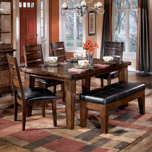Spencerville 6 Piece Dining Set by Three Posts