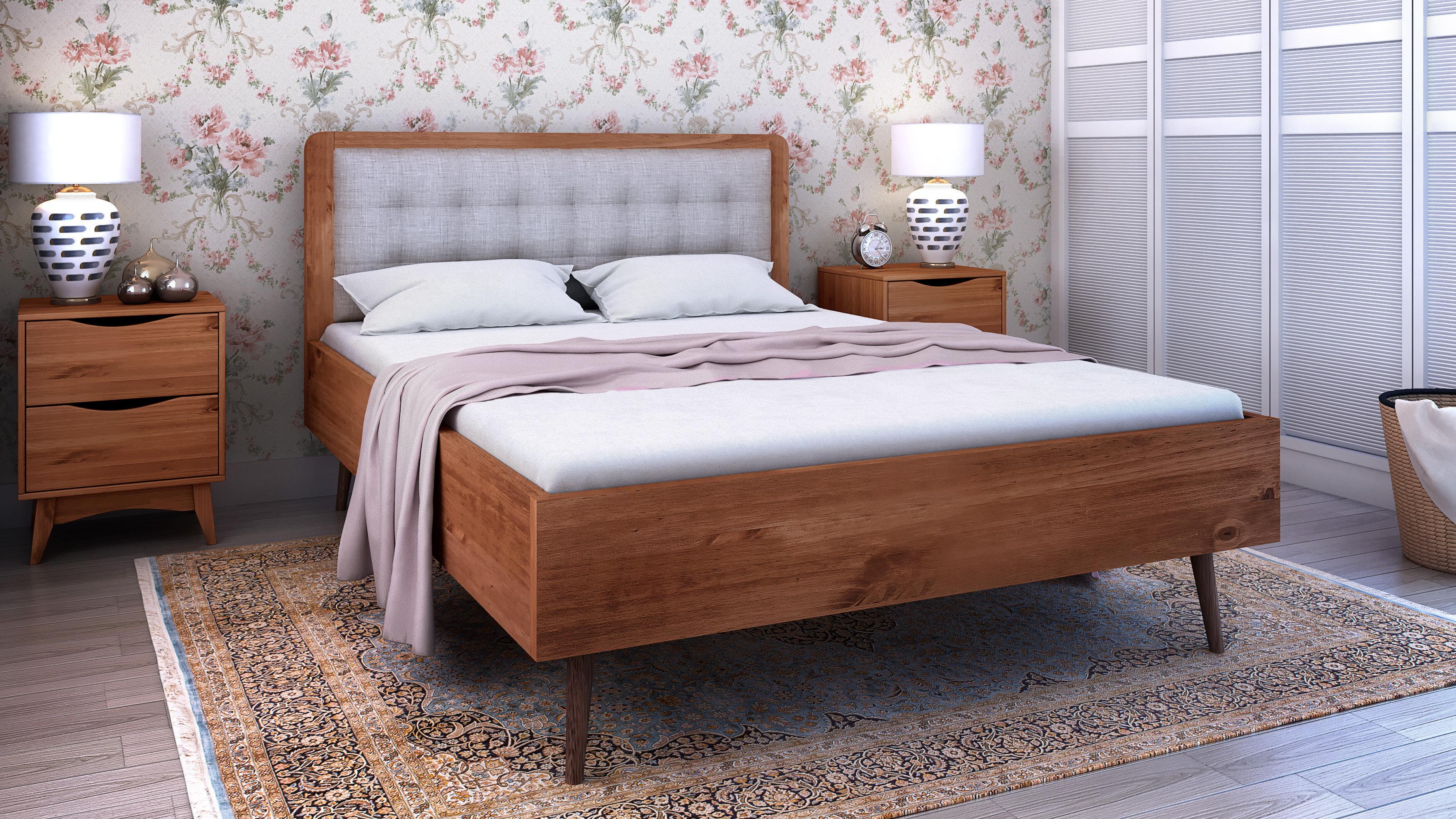 Excellent Hartlepool Queen Upholstered Platform Bed Download Free Architecture Designs Jebrpmadebymaigaardcom