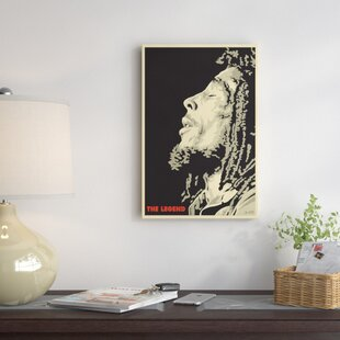 The Legend Bob Marley Graphic Art Print On Canvas