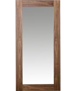 Rectangle Walnut Full Length Mirror