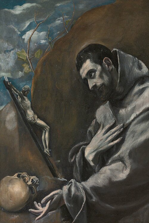 Astoria Grand Saint Francis Of Assisi Painting Print On Wrapped