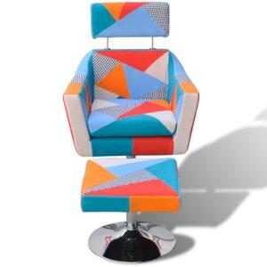 Sessel mit Fußhocker von Home Etc