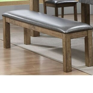 Liska Faux Leather Upholstered Bench