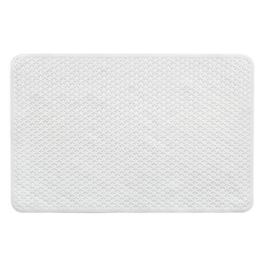 Wonderful Vinyl Non Slip Lattice Design Shower Mat With Ultra Secure Suction Cups
