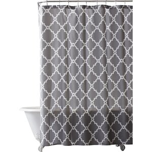 navy and coral shower curtain. Alta Microfiber Shower Curtain Curtains You ll Love  Wayfair