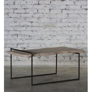Sai Iron Sandstone Top Coffee Table by 17 St..