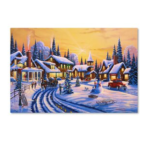 'A Christmas Story' Print on Wrapped Canvas
