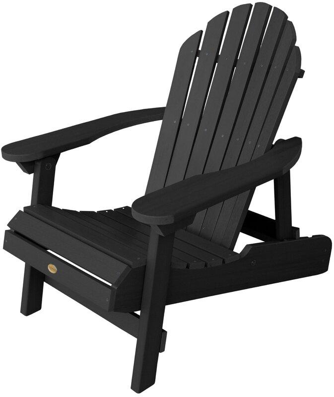 Amiya Traditional Folding U0026 Reclining Adirondack Chair