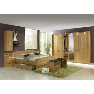 Anpassbares Schlafzimmer-Set Lausanne, 180 x 20..