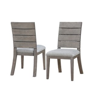 Wooton Ladder Upholstered Dining Chair (Set of 2)