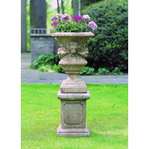 Lion Pedestal Plant Stand