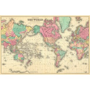 World Map Curtains Wayfair
