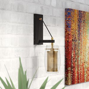 Depp 1-Light Armed Sconce