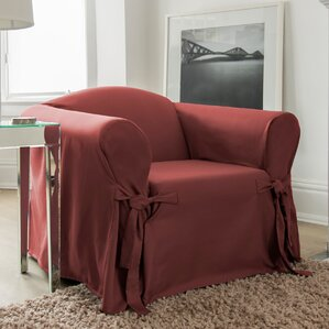 Muskoka Box Cushion Armchair Slipcover by CoverWorks