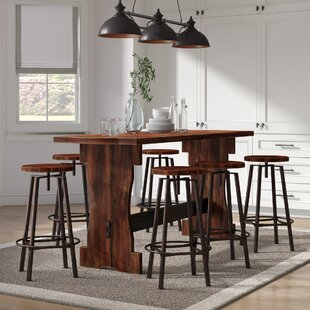 Connery 7 Piece Counter Height Pub Table Set